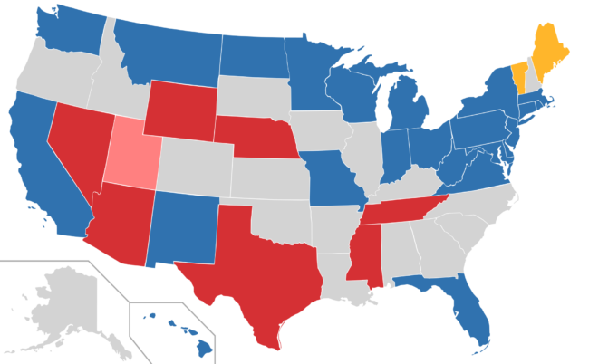 Looking To Democrats In Danger USA Herald - Us senate elections 2016 map