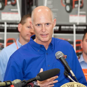 Florida Gov. lashes out at GOP leader over jobs money