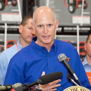 Florida Gov. lashes out at GOP leader over jobs money