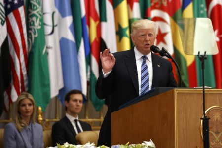 Trump: Fight against terror a 'battle between good and evil'