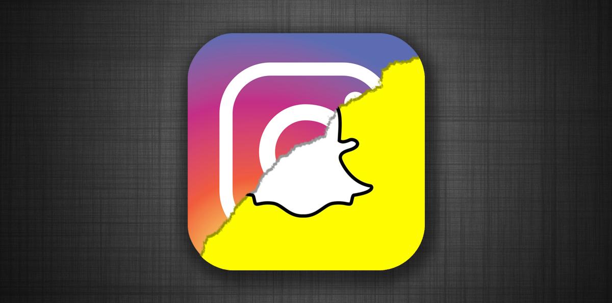 Instagram logo,snapchat logo