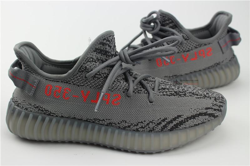 9ec643444b5 Adidas Orignals Yeezy Boost 350 V2 vs UA Replica Zebra Kanye