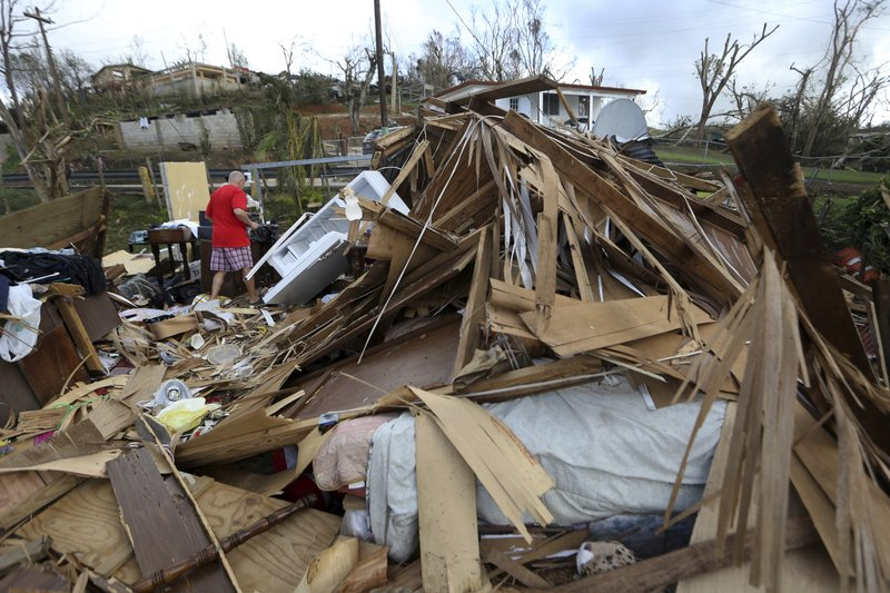 Puerto Rico ravaged by hurricanes