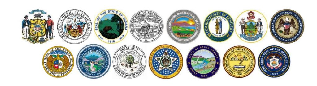 Seal of Fifteen states