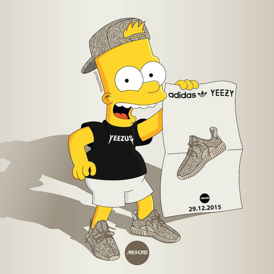 The adidas yeezy