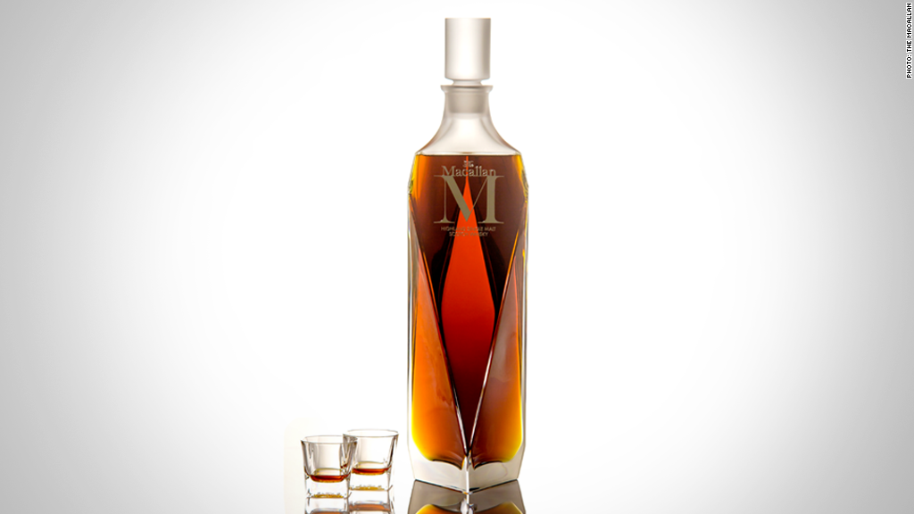 "Macallan ""M"" whisky - $628,205"