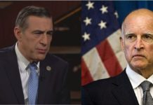 Cong. Issa hit back at Gov. Brown