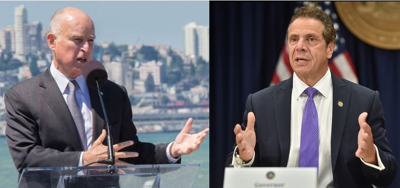 Gov. Brown & Gov. Cuomo reject repeal of SALT deduction