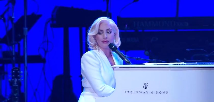 Lady Gaga at One America Appeal benefit Concert