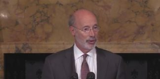 Pennsylvania Gov. Tom Wolf implement measures to manage budget