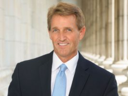 Sen Jeff Flake of Arizona