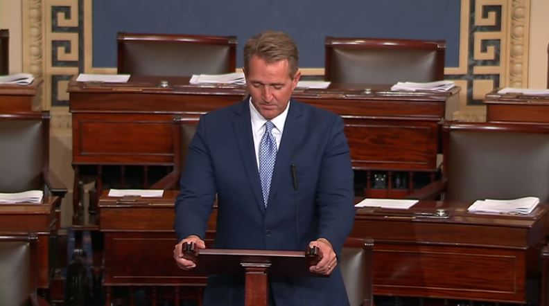 Sen. Jeff Flake of Arizona