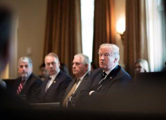 Trump convened his cabinet today.