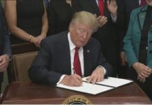 President Trump uses his pen to tackle Obamacare