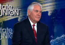 Sec. of State Rex Tillerson