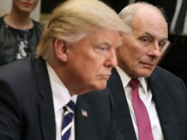 President Trump and Chief of Staff John Kelly