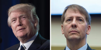 Consumer Financial Protection Bureau Head and Trump