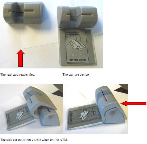 Credit Card Skimming Device