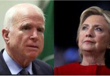 John McCain Slams Hillary Clinton