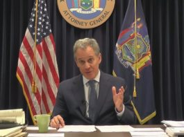 ew York AG Eric Schneiderman -net neutrality public comment process