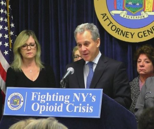New York AG Schneiderman takedown drug trafficking ring