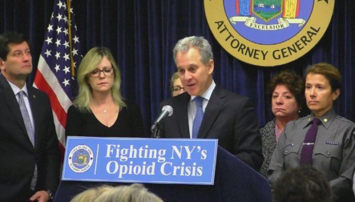 New York AG Schneiderman takedown drug trafficking ring
