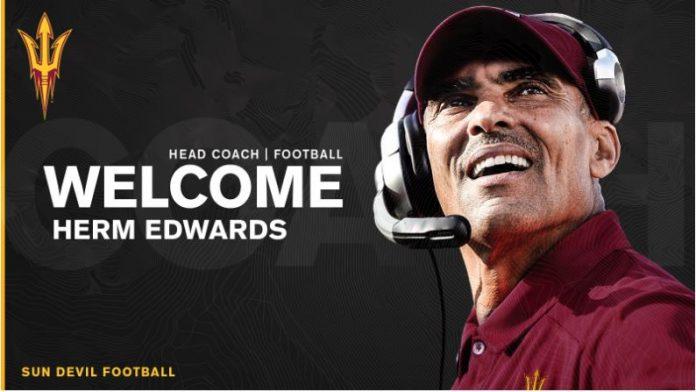 Arizona State Hires Herm Edwards Head Coach of Sun Devil Football