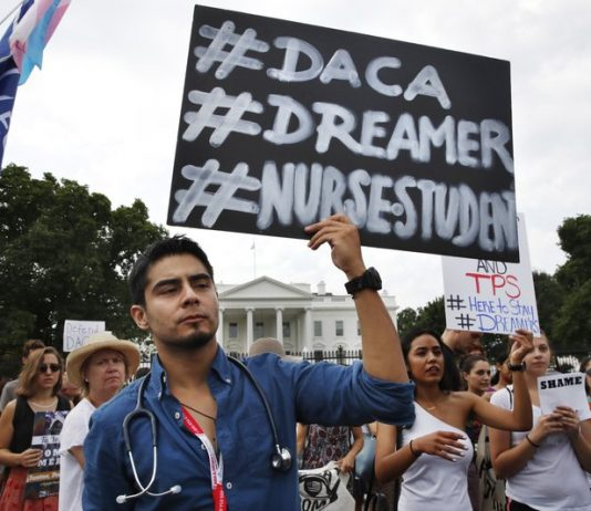 DACA/Dreamers rally