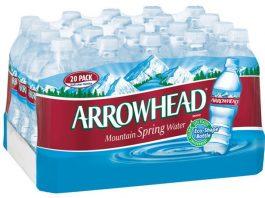 Nestle Arrowhead Spring Water