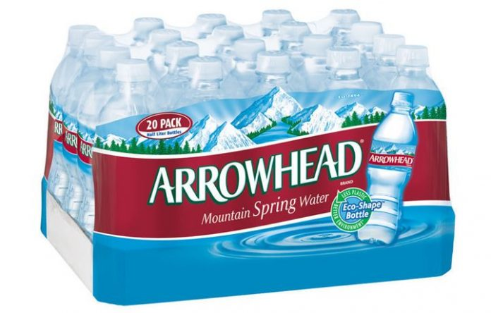 Nestle Arrowhead Spring Water