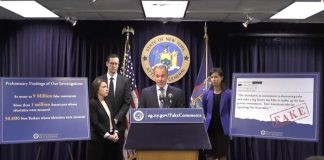 New York AG on FCC Net Neutrality Fake Comments