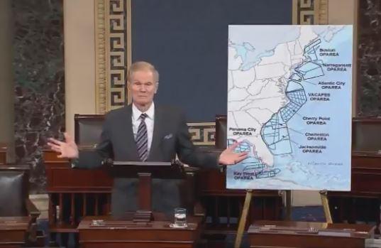 Sen. Nelson says Drilling off Atlantic Coast Huge Threat to Florida