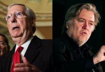 Steve Bannon vs. Mitch McConnell, GOP civil war