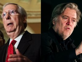 Steve Bannon vs. Mitch McConnell, GOP civil war