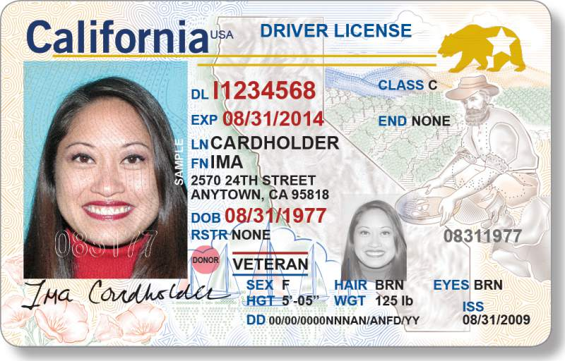 Real Comply That Act Starts Licenses Driver's Offering With California Id