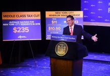 Gov. Andrew Cuomo announces minimum wage hikes, tax cuts