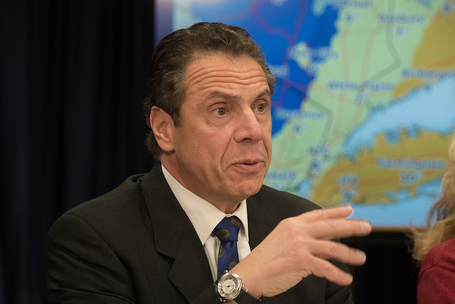 Gov. Andrew Cuomo press briefing on winter storm