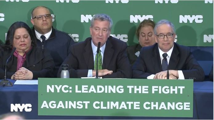 New York City sues big five oil companies