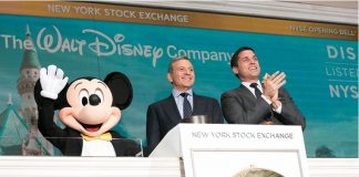The Walt Disney Company-Mickey Mouse-CEO Bob Iger