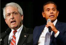 California Gubernatorial candidates Cox vs Villaraigosa