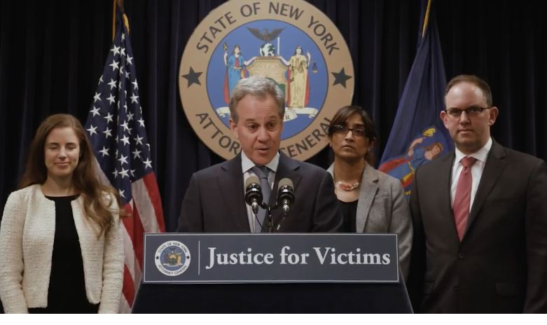 New York AG files lawsuit The Weinstein Company