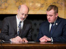 Pennsylvania Gov. Wolf Signs Lobbying Restriction Bill