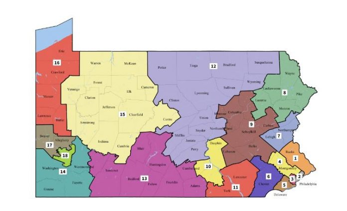 Pennsylvania Remedial Congressional Map
