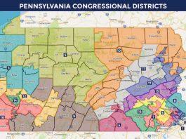 Pennsylvania congressional map