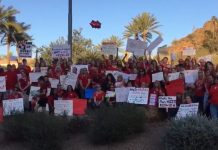 Arizona Educators RedforED movement