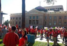 Arizona Educators United Demands Wage Increase