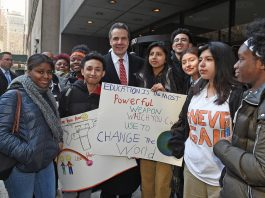 Gov. Cuomo joins nationwide students walkout