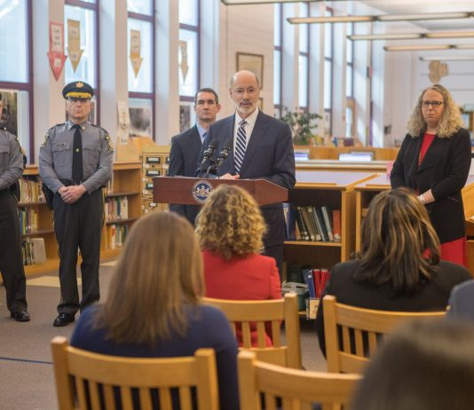 Gov. Wolf Creates School Safety Task Force