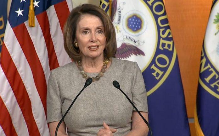 House Minority leader Nancy Pelosi Weekly Briefing--DACA--Spending Bill--Etc