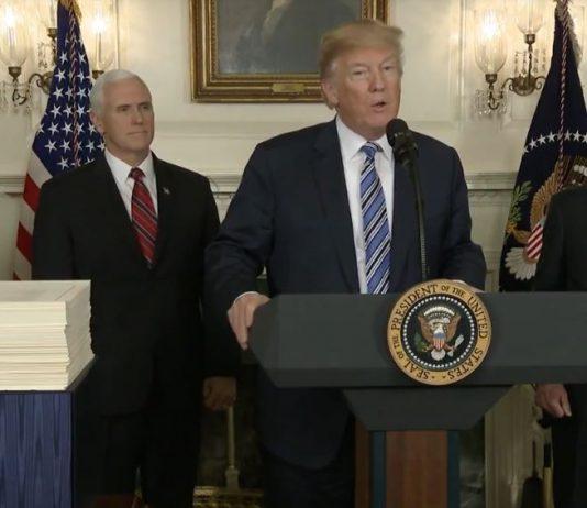Trump signs spending bill